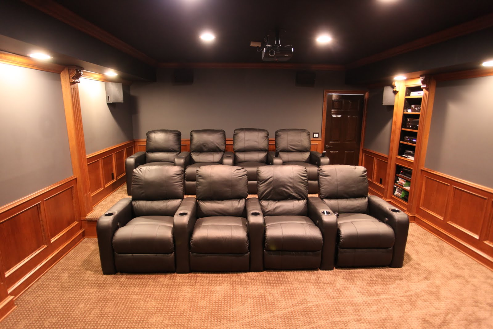 home theater decor pictures 10 x 10 home theater room 187 design and ideas 11558