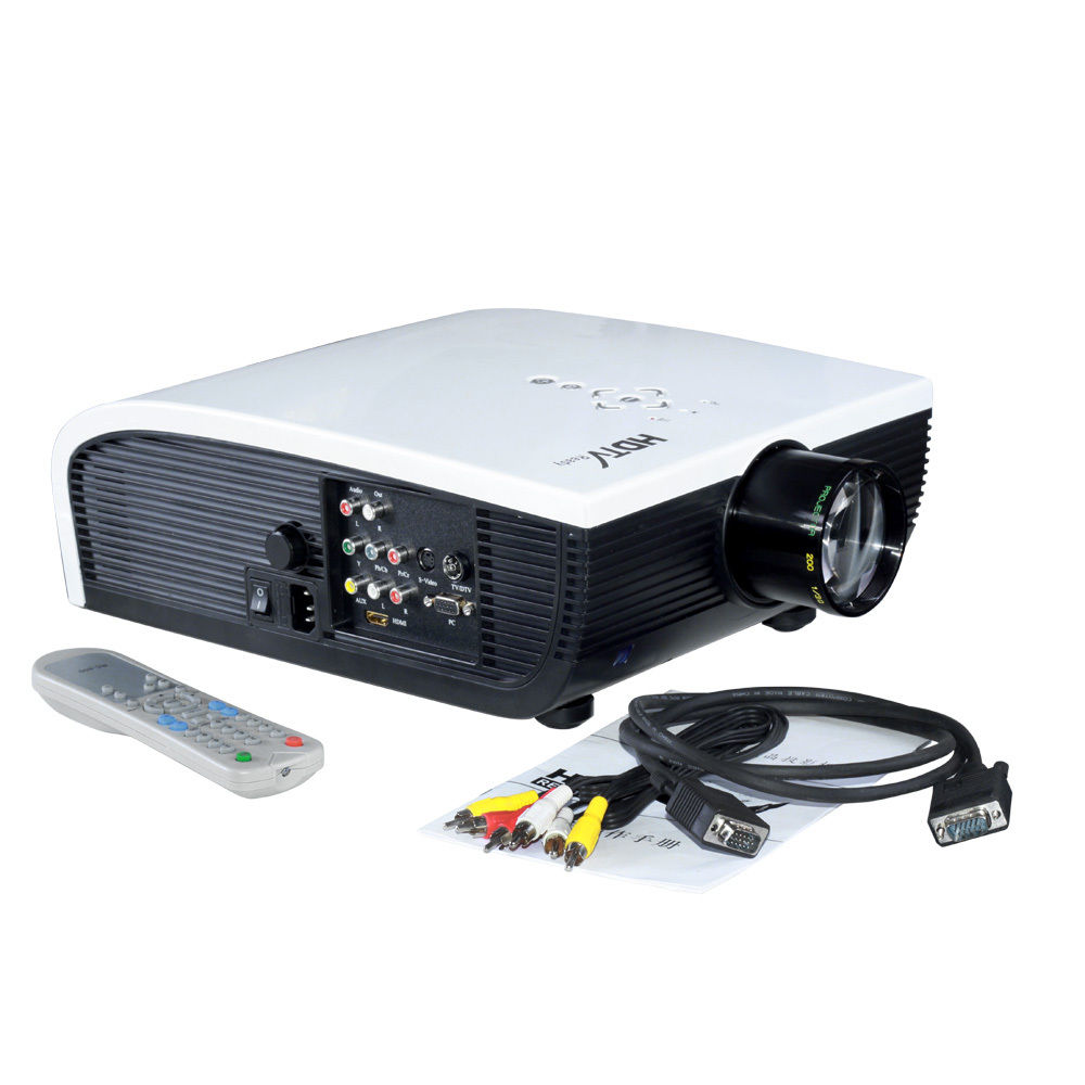 1080p home theater lcd hdmi projector hd tv design and ideas for Hd projector