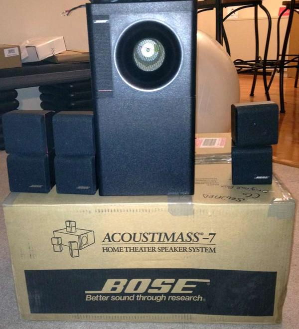 bose acoustimass 7 home theater speakers manual design and ideas rh ctcwi net bose acoustimass 7 home theater speaker system manual Bose Acoustimass 7 Subwoofer