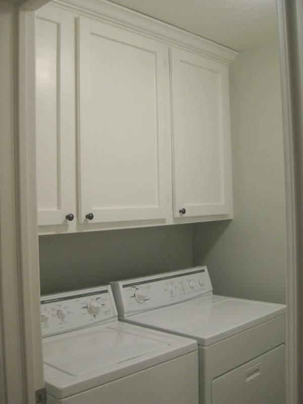Build Your Own Laundry Room Cabinets