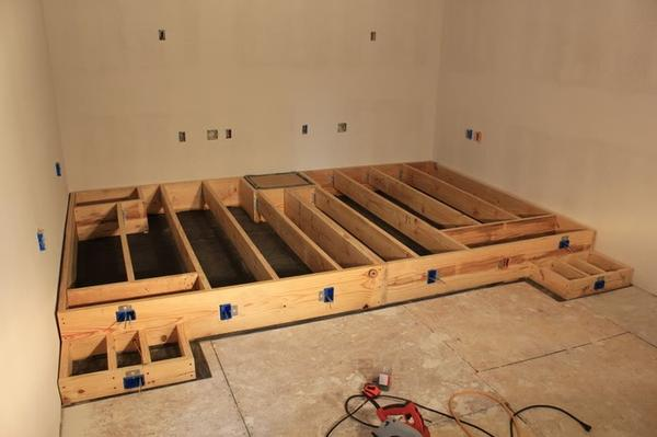 Building A Home Theater Riser 187 Design And Ideas