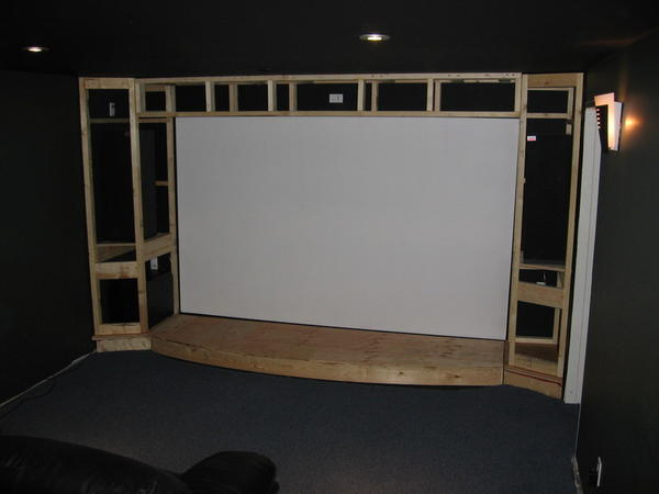 Charming Building A Home Theater Stage
