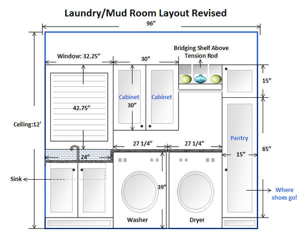 Great Designing A Laundry Room Layout Part 9