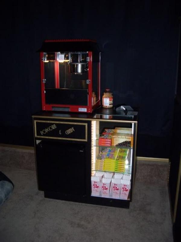 Diy Home Theater Concession Stand Design And Ideas