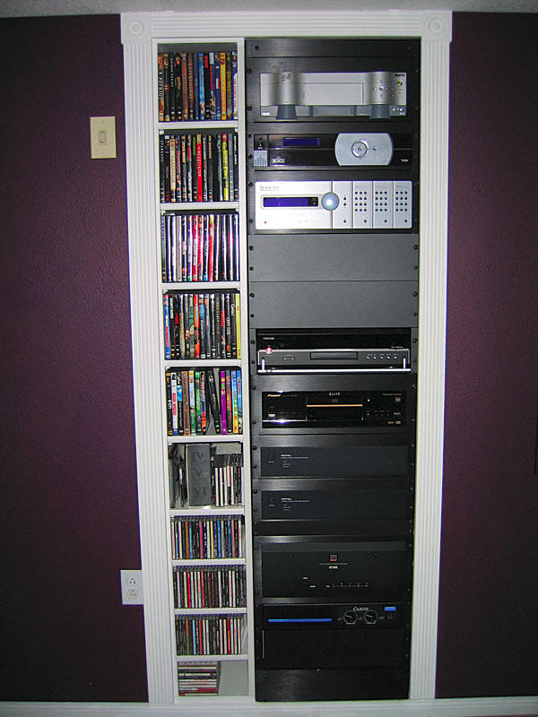 Diy home theater equipment rack design and ideas - Diy home theater design idea ...