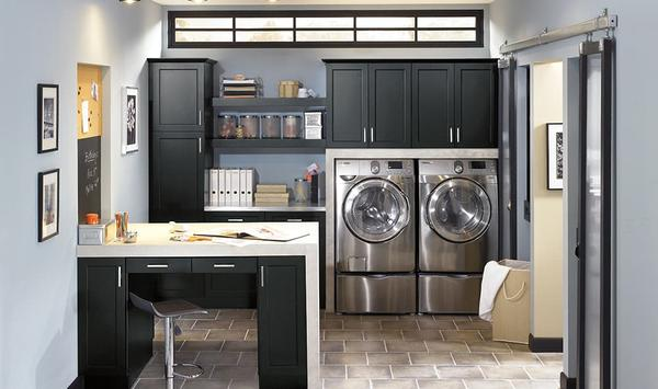 Do it yourself laundry room cabinets design and ideas do it yourself laundry room cabinets solutioingenieria Images