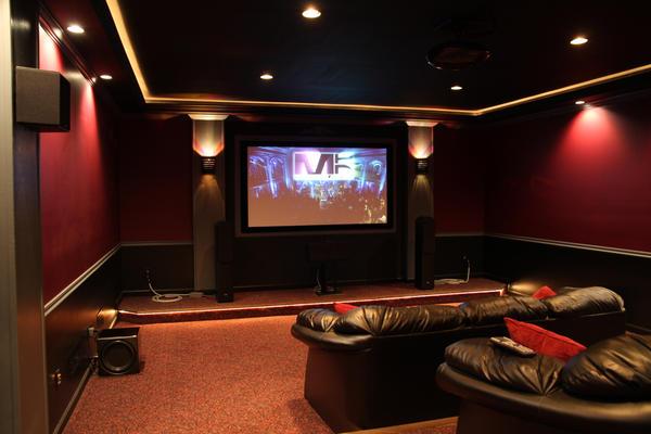 Home Movie Theater Decor Ideas