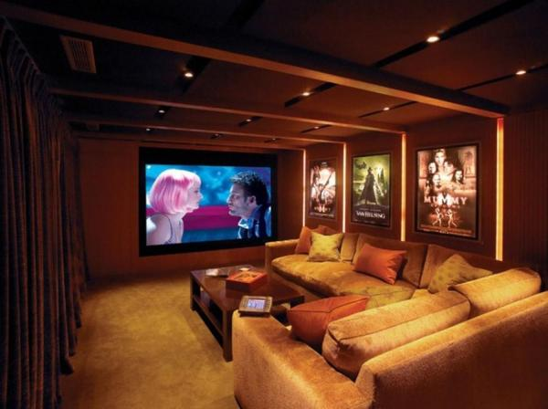 Home Movie Theater Design Ideas