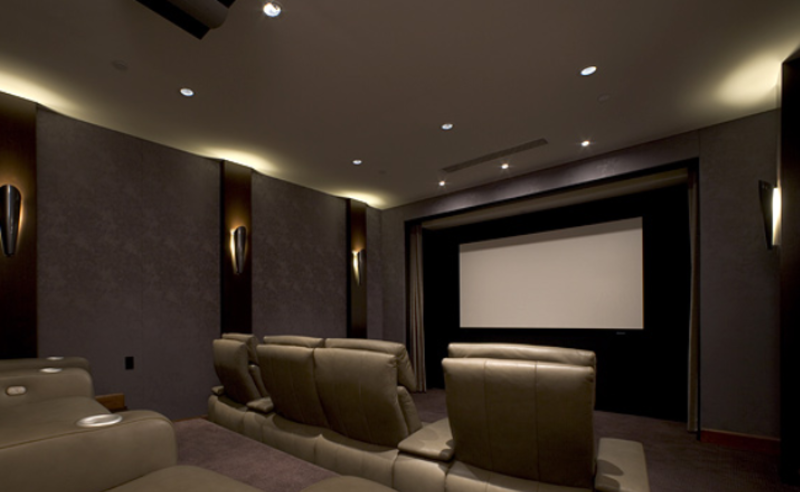 home theater lighting design and ideas. Black Bedroom Furniture Sets. Home Design Ideas