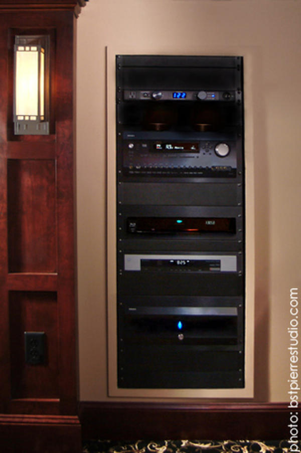 Home Theater Av Rack