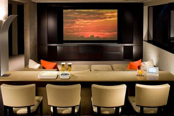 home theater bar seating » Design and Ideas
