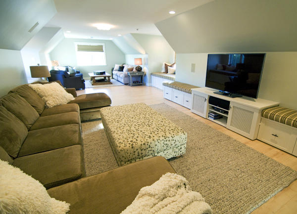 home theater bonus room over garage » Design and Ideas