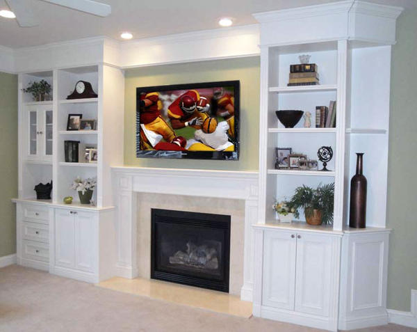 Home Theater Built In Cabinet