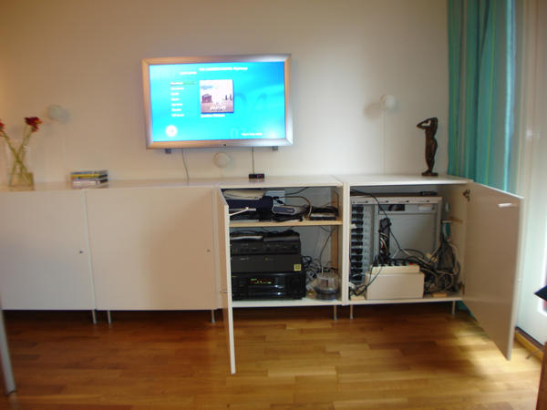 Home Theater Cabinet Cooling System Design And Ideas