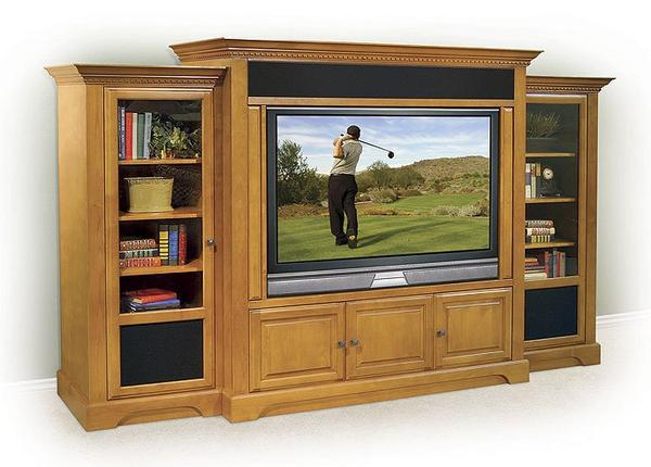 Home theater cabinet furniture design and ideas - Home theatre cabinet designs ...