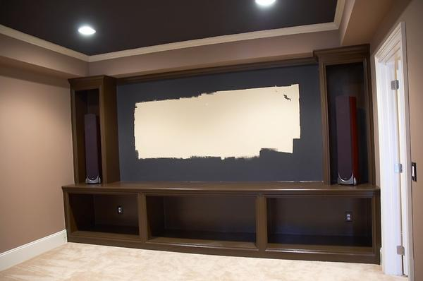 Home Theater Cabinet Design And Ideas