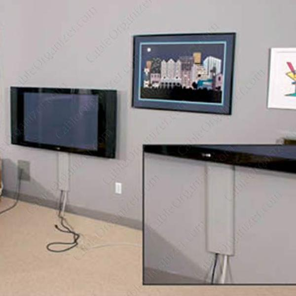 home theater cable hiding » Design and Ideas