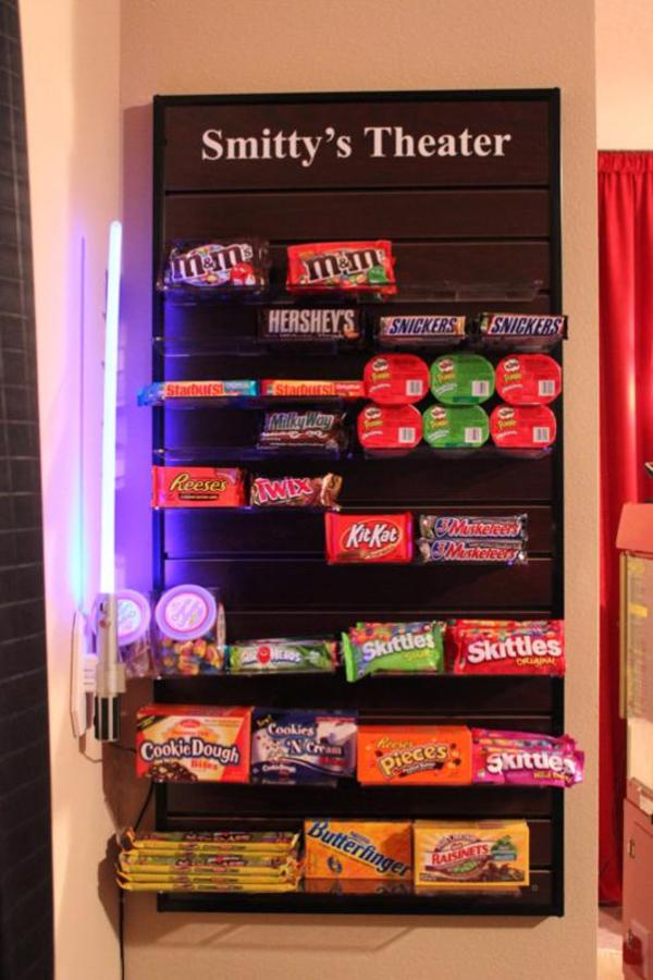 Home Theater Candy Rack 187 Design And Ideas
