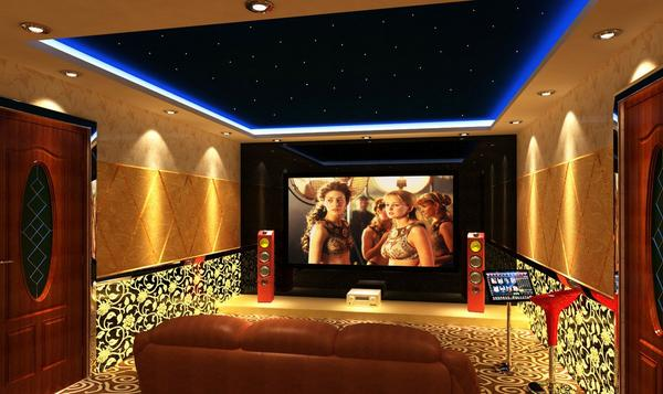 Home Theater Ceiling Design Ideas