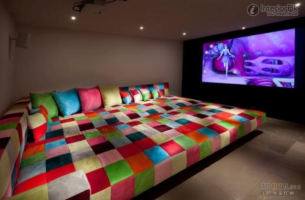 home theater couch bed design and ideas