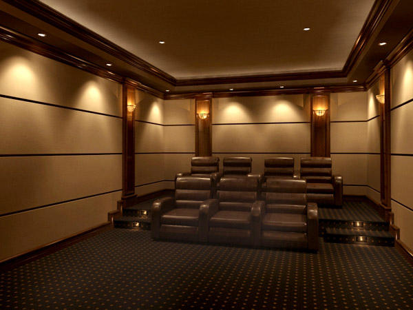 Home theater design design and ideas Home theater architecture