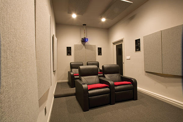 home theater design for small room design and ideas. Black Bedroom Furniture Sets. Home Design Ideas