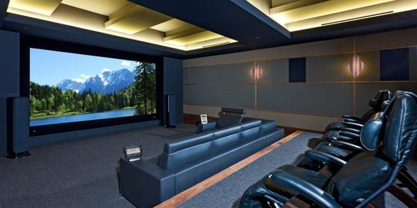 Home theater design ideas budget design and ideas Home theater design ideas on a budget