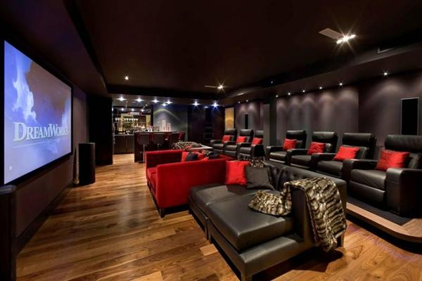 home theatre design layout. home theater design ideas  Design and Ideas