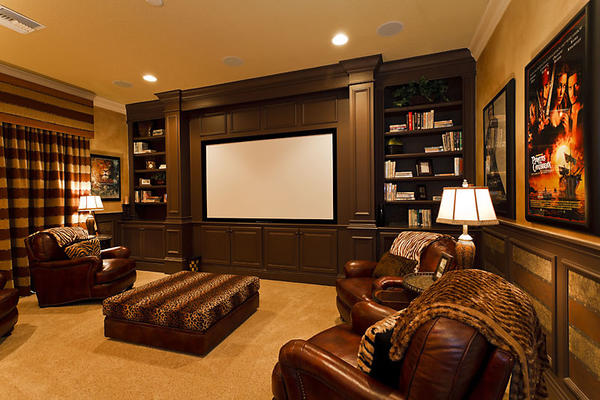Home theater design ideas page 3 design and ideas for Home theater room size