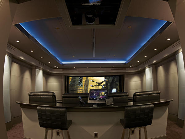 Superb Home Theater Lighting Design Design
