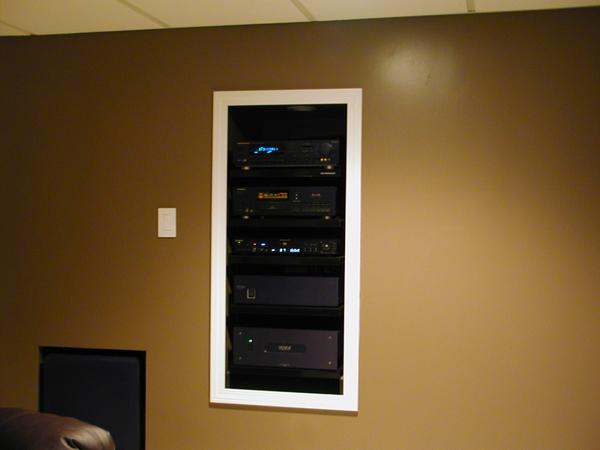 Home Theater Media Rack