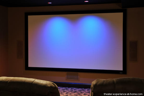 Home Theater Projector And Screen Combo