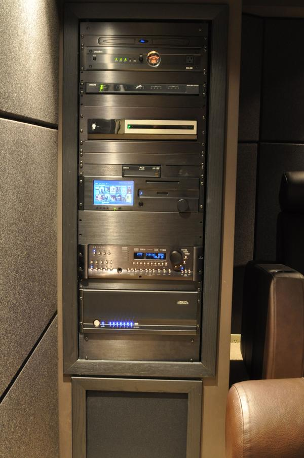 Home Theater Rack Mount Cabinet