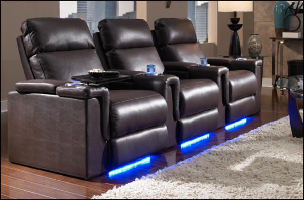 Home Theater Sofa Recliner Recliner Chair Movie Style