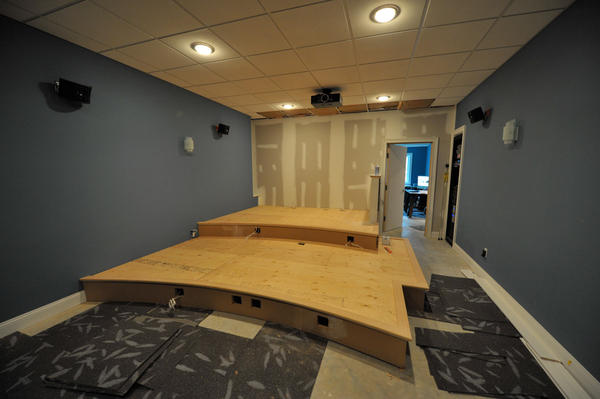 Home Theater Riser Diy Design And Ideas
