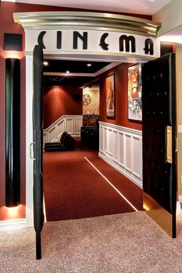 Home theater room doors design and ideas for Home theater room pictures design