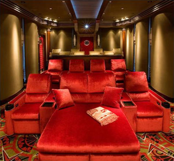 Home Theater Decorating Ideas Pictures Part - 41: Home Theater Room Ideas