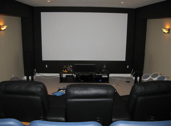 Projector screen paint reviews how to build your own Home theater colors
