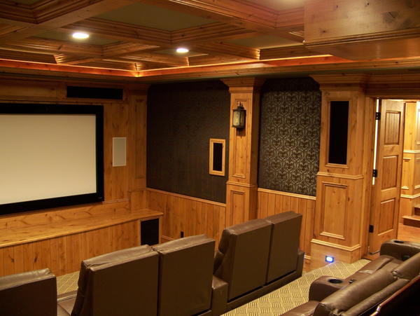 Home Theater Screen Wall Design Design And Ideas