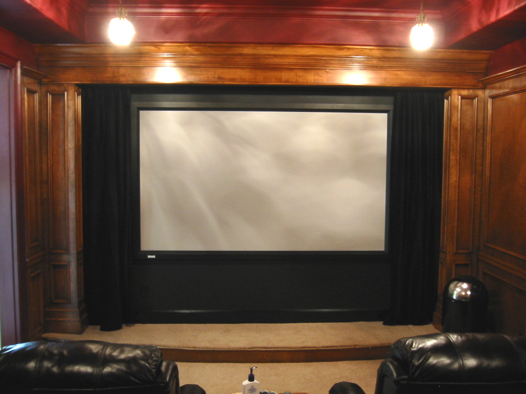 Home Theater Screens Design And Ideas