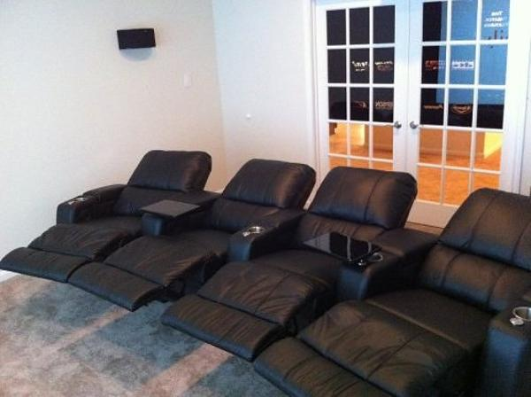 Home theater seating costco design and ideas for Home theater seating design ideas