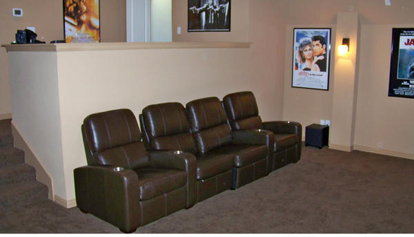 home theater seating dallas design and ideas