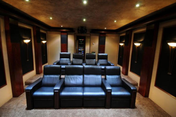 Home Theater Seating Design Ideas » Design And Ideas