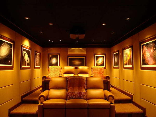 Home theater seating design design and ideas for Home theater seating design ideas