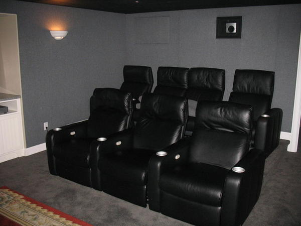 Home theater seating for small room design and ideas for Small room seating