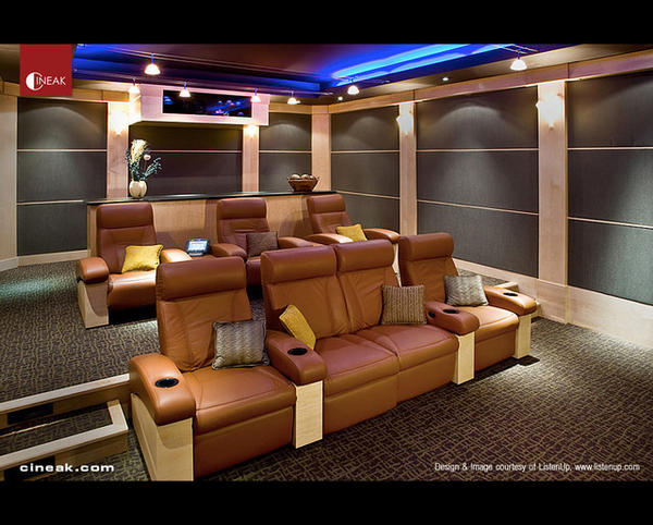 Awesome Home Theatre Room Design Ideas Images - Interior Design ...