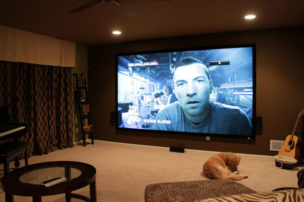 Home Theater Setup Projector 187 Design And Ideas