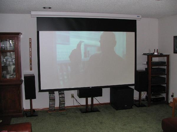 home theater setup with projector design and ideas rh ctcwi net Home Theater Projector Screen Home Theater Projector Setup
