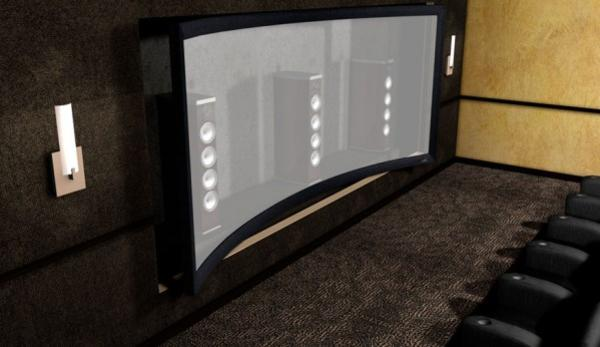 Home Theater Speakers Behind Screen 187 Design And Ideas