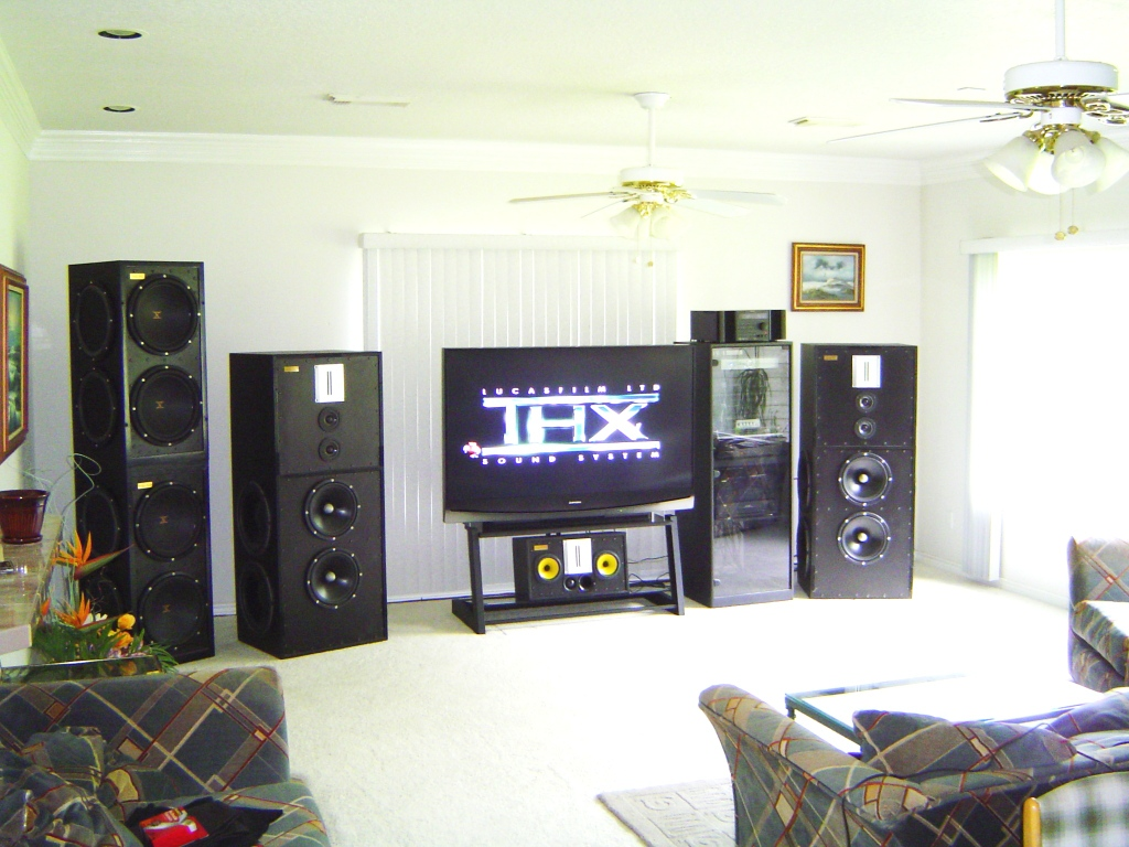home theater speakers diy design and ideas. Black Bedroom Furniture Sets. Home Design Ideas
